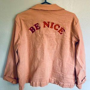 Be Nice pink jacket